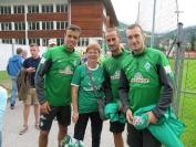 Werders Sommertrainingslager 2014